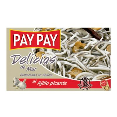Gulas-Baby Eels in Garlic