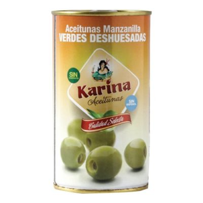 Pitted Green Manzanilla Olives