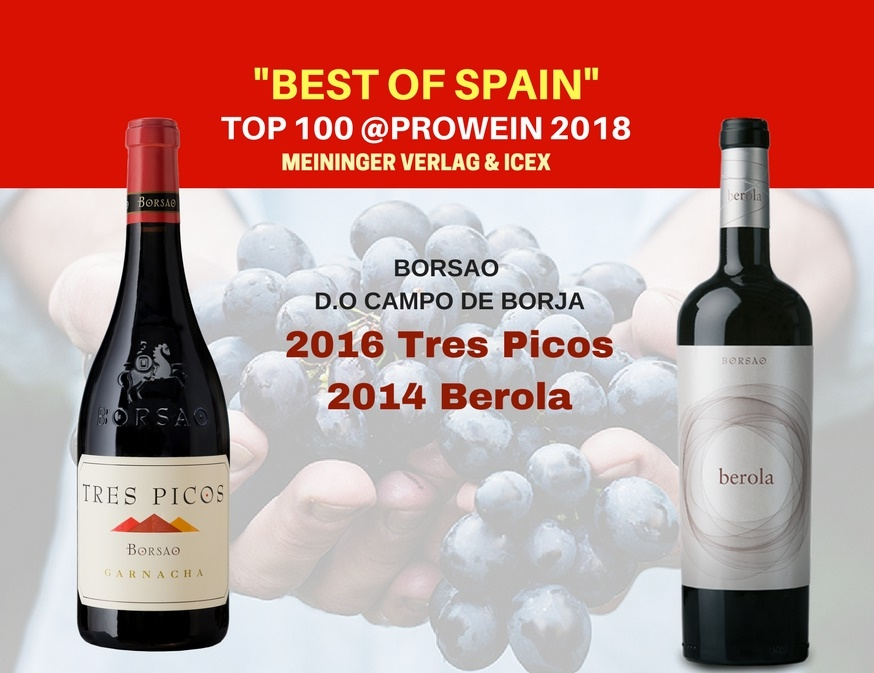 Borsao Tres Picos & Berola: Best of Spain