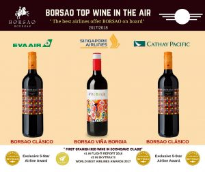 Borsao Top Wine in the Air