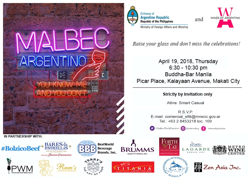Malbec World Day 2018
